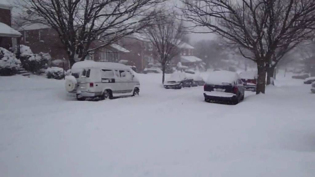 baltimore snow